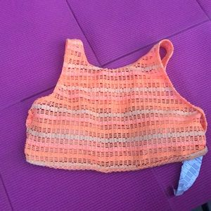 PERFECT CONDITION ORANGE HIGH NECK BIKINI